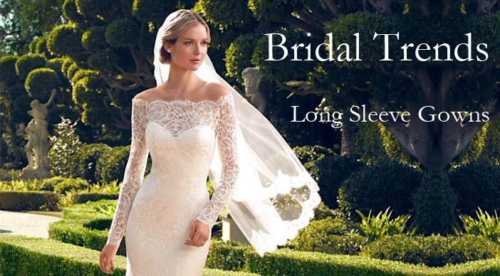 Bridal Trends – Long Sleeve Gowns