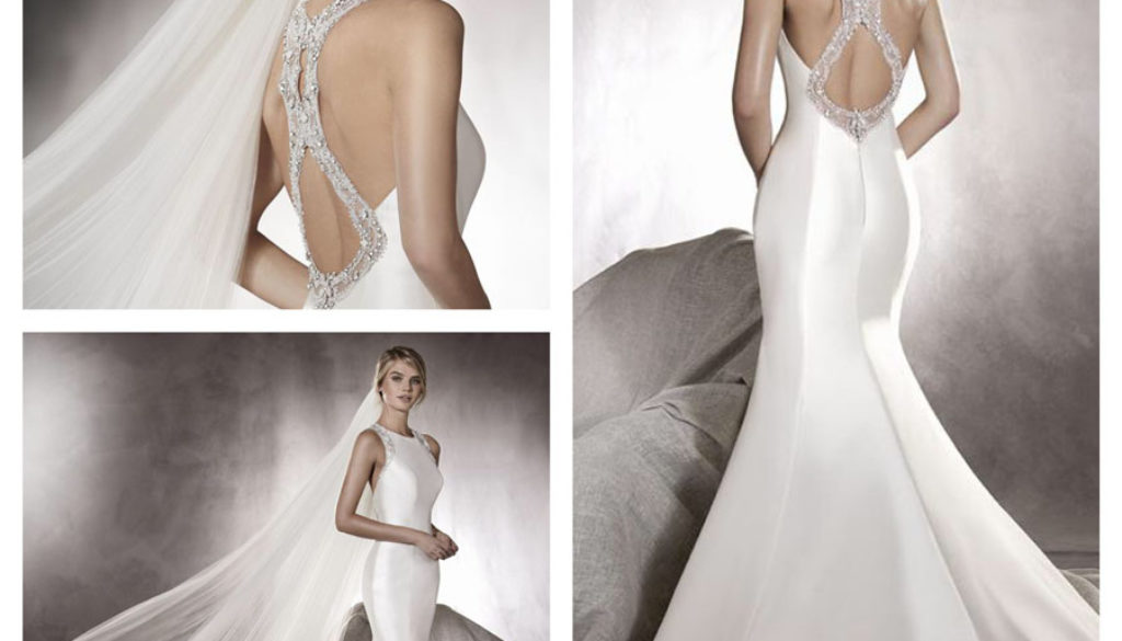 Agnes by Pronovias Wedding Dress at Noble and Wright Leicester 1