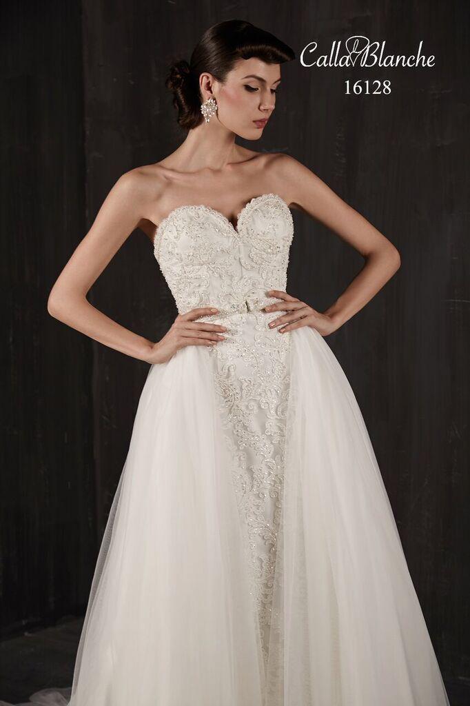 Calla Blanche 16128 Coming Spring 2016 Modern Bride Pinterest 33 2