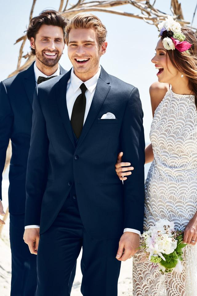 wedding suit navy michael kors sterling 372 3
