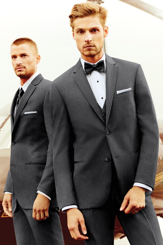 wedding suit steel grey michael kors sterling 392 1