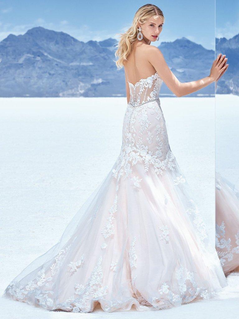 Sottero and Midgley Wedding Dress Frankie 8SW541 Back