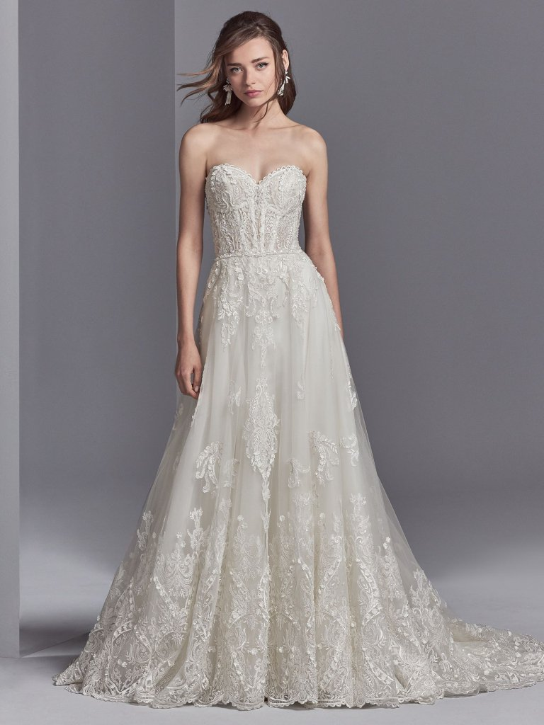 Sottero and Midgley Wedding Dress Watson 8SN544 Alt1