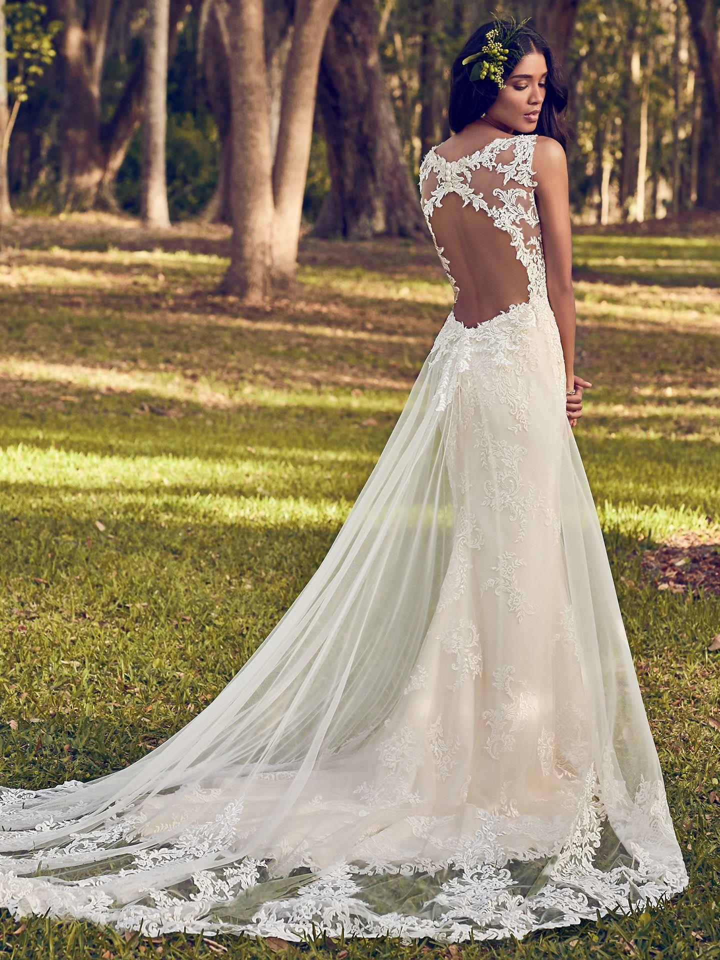 Maggie Sottero Wedding Dress Bernadine 8MN499 MainBack