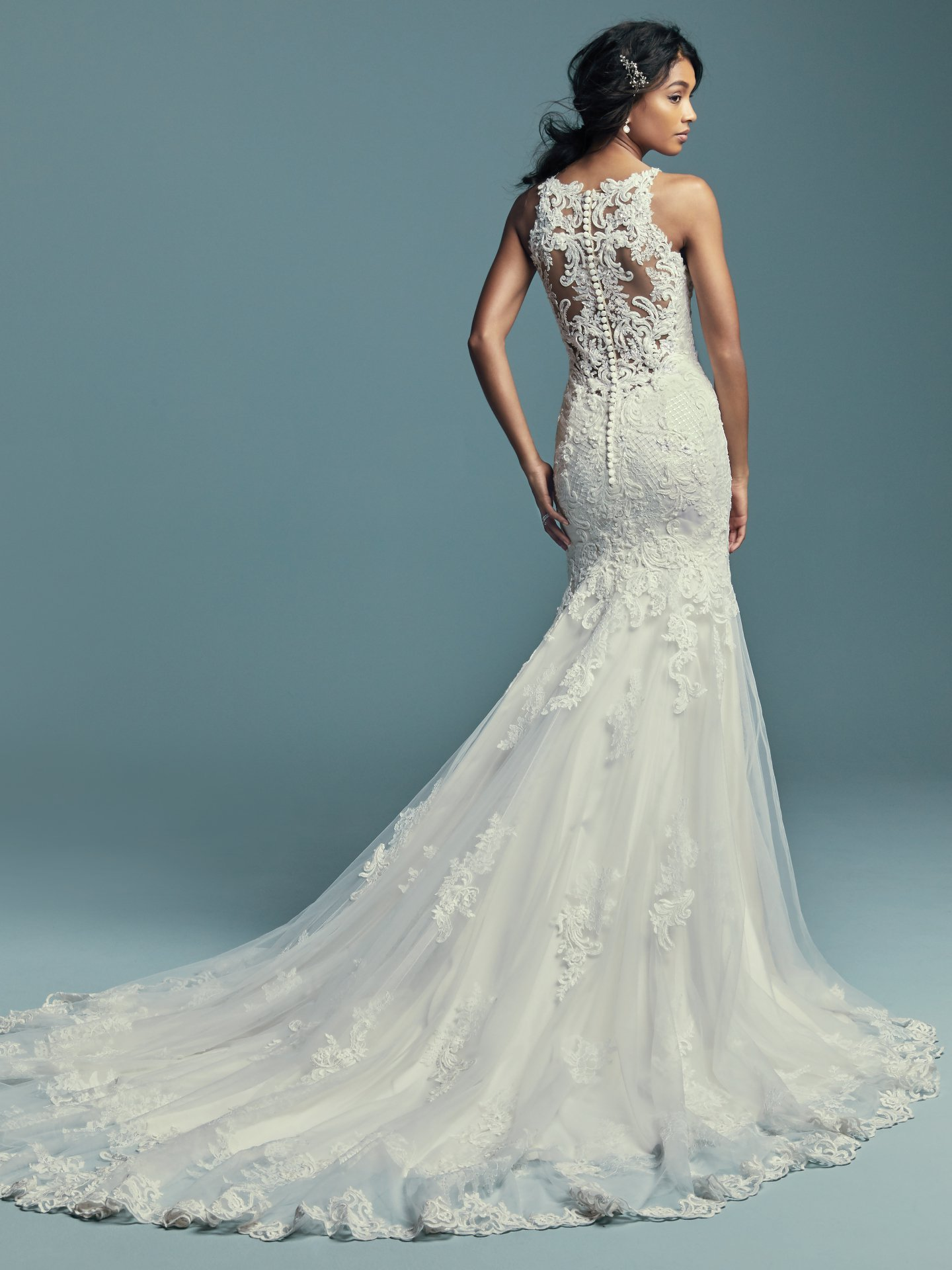 Maggie Sottero Kendall 8MC749 Back